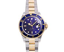 ロレックスサブマリーナデイト Ref.16613 コンビ SS/YG ブルー/バイオレット/パープルダイアル 1995年 W番 トリチウム