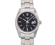ロレックスオイスターデイト Ref.6694 ステンレス ブラックミラーダイアル 1967年 Ser.171