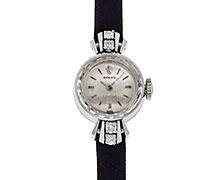 ロレックスオーキッド Ref.2256 ホワイトゴールド ダイヤモンド入りケース 1965年 146番 未研磨