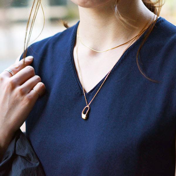 MARIA BLACK【マリアブラック】ネックレス Pebble Mini Necklace 100747YG ゴールド