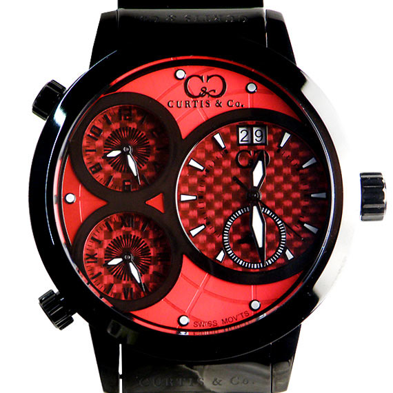 BIG Time WORLD 57mm 4Time zone