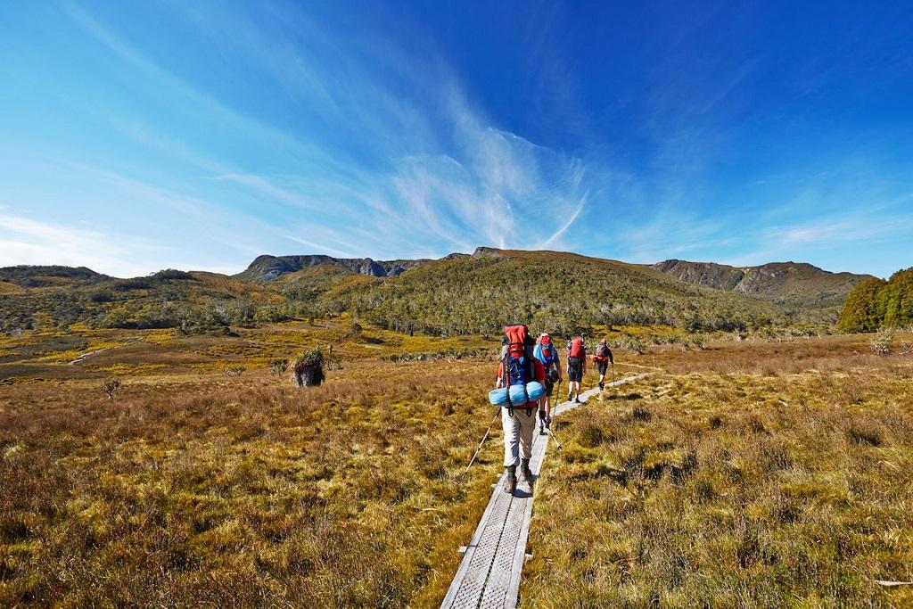 ハイキングの写真