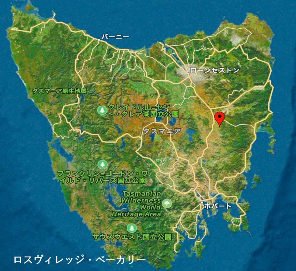 ロス・ヴィレッジ・ベーカリー 地図