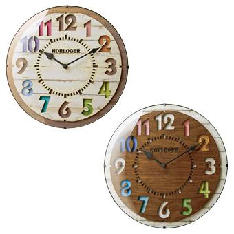 【楽天市場】掛け時計・壁掛け時計:インテリア時 …