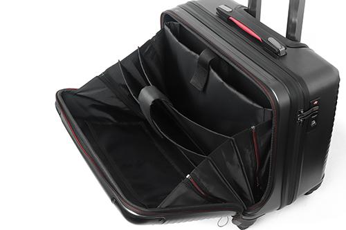 スーツケース フロントオープン