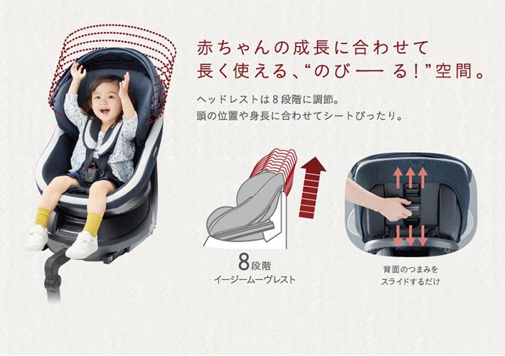 赤ちゃんの成長に合わせて長く使える、のびーる!空間。
