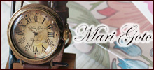 "Mari Goto(マリゴトー)−""「かっこいい」と「かわいい」の共存""がテーマの女性作家による手作り腕時計ブランド"
