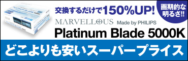 フィリップスPLATINUM BLADE 5000k