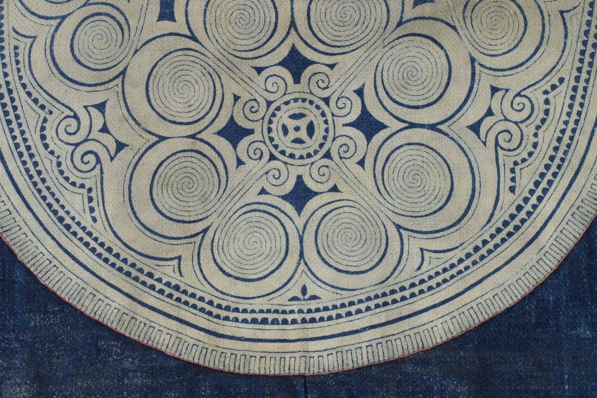 モン族民族衣装の文様