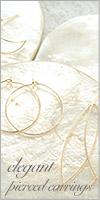 elegant pierced earrings
