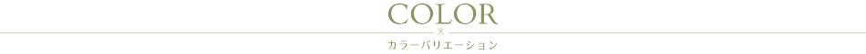 商品のカラーバリエーション