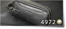 ループハンドル ボックスセカンドバッグ[4972]