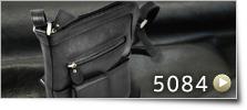本ヌメ革 バケツ型ショルダーバッグ[5084]
