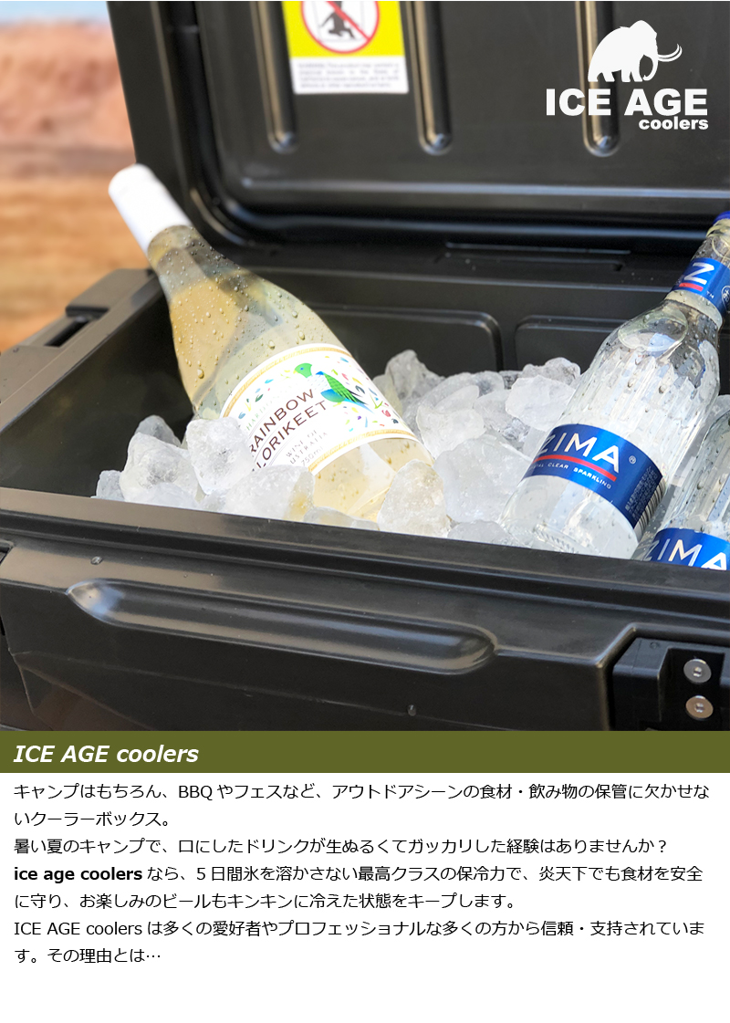 ICE AGE coolers
