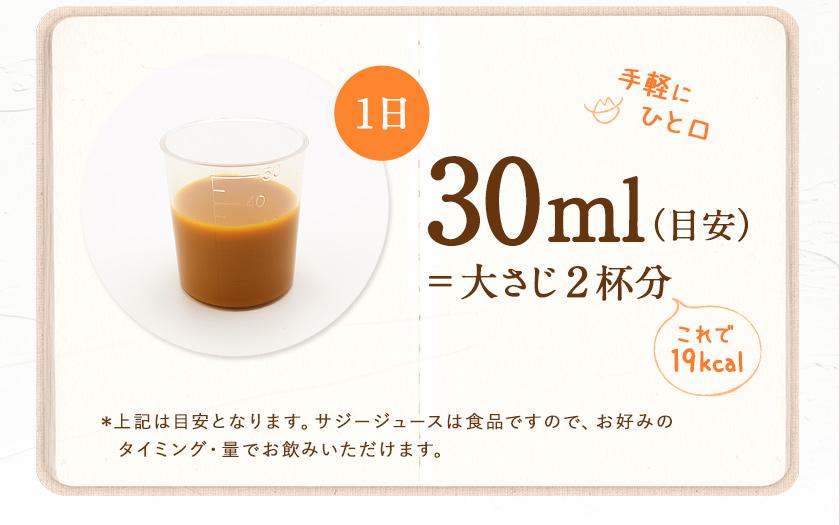 1日30ml(目安)