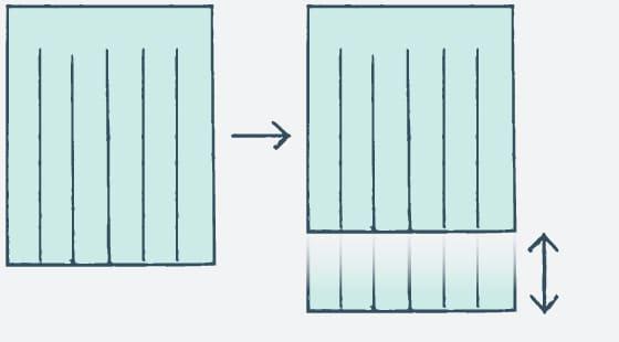 カーテン丈詰め/丈伸ばし(丈のサイズ変更)