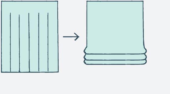 カーテンをプレーンシェードに直す