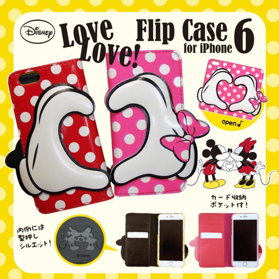 楽天市場】iphone6 iphone6s 手帳型ケース ミッキー ミニーマウス