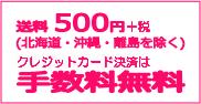 お買物合計が税込3000円以上で送料無料