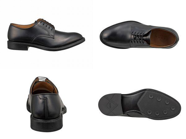 【04NRBH】【REGAL】【送料無料】【日本製】アッパー全て本革☆グッドイヤーウエルト式製法ラウンドタイプのプレーントウビジネスシューズ紳士靴