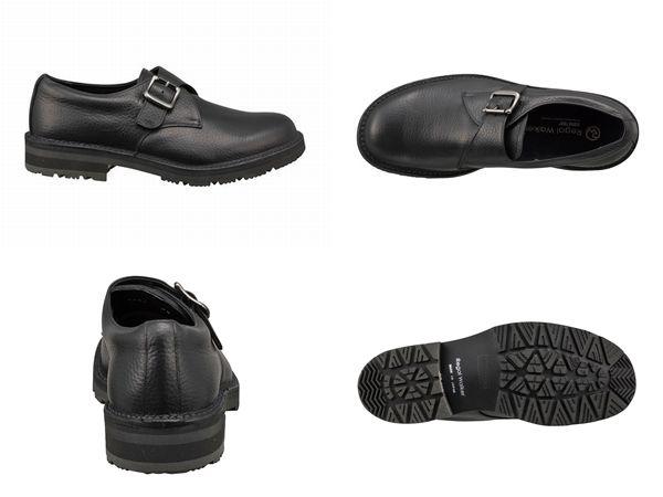 【280WBGW】【Regal Walker】【送料無料】【雪道対応ソール】アッパー全て牛革 ☆ゴアテックス(r)ファブリクス 3Eモンクストラップ紳士靴