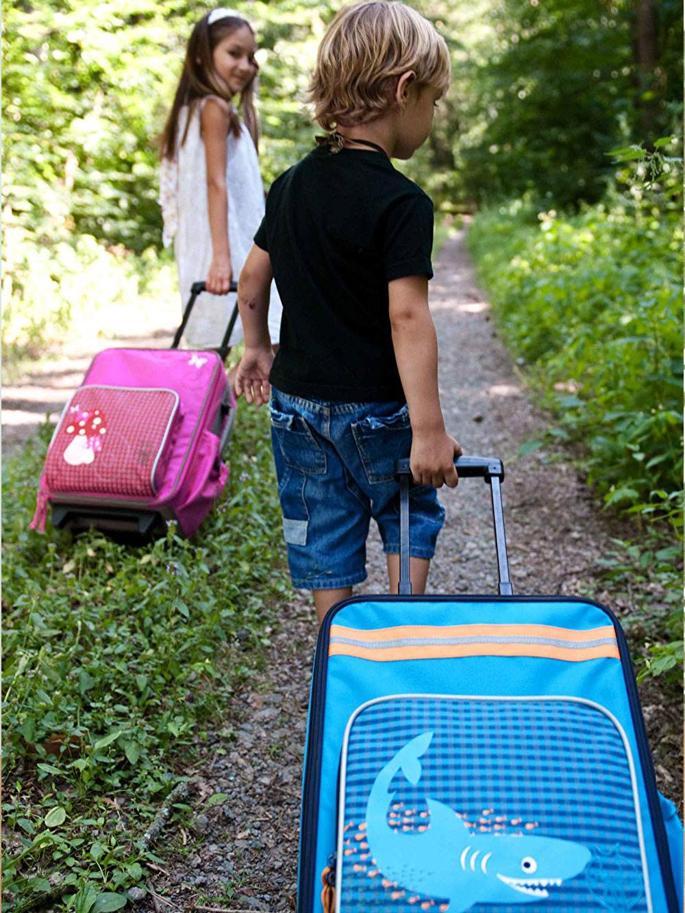 レッシグの子供用キャリーバッグ シャーク