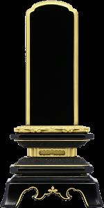 葵角切型(あおいすみきりがた)位牌