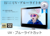 UV・ブルーライトカットパネル