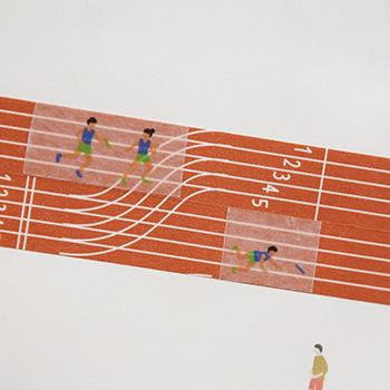 マスキングテープ Athlete