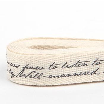 コットンリボン24 ribbon-lettering