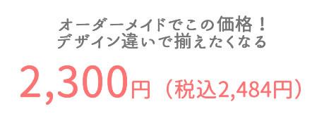 価格2300円