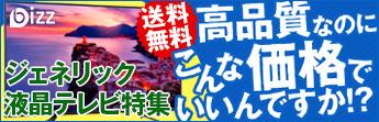 bizz(ビズ)ジェネリック液晶テレビ特集