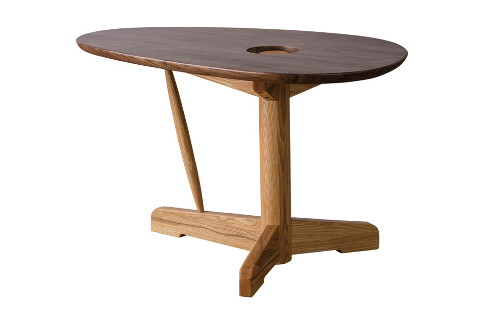 Kozue center table for Table carree 150 x 150