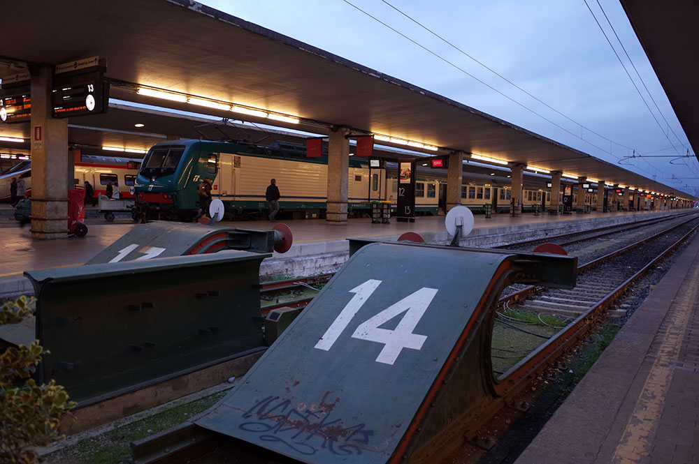 フィレンツェ駅 ITALOホーム