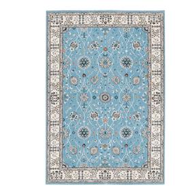 涼しげなブルーと伝統的なオリエンタルデザインの融合 ラグナ