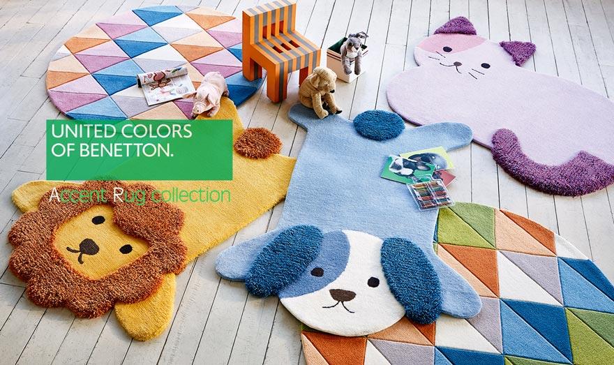 かわいい動物たちのふわふわラグマット ドッグ・キティ・リオン