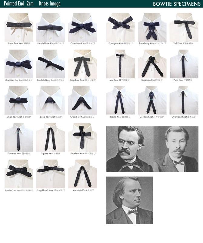 蝶ネクタイ 結び方