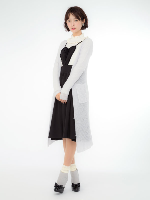 dreamv | Rakuten Global Market: Heart Pocket mohair knit Cardigan ...