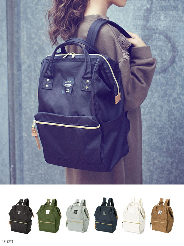03b1e8e3e557 Anello Anello A4 size storage OK commuter school high-capacity lightweight  caps with Luc L size backpack bag bag bag mothersluc girly casual fashion  cute ...