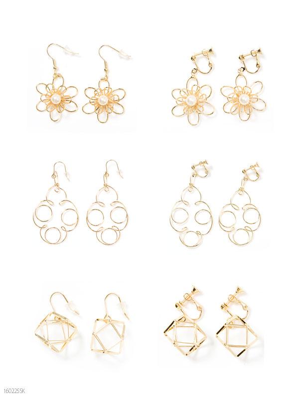 dreamv | Rakuten Global Market: Cute accessories gold wire motif ...