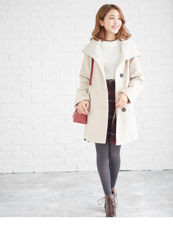 dreamv | Rakuten Global Market: Outer coat faux wool big shawl ...