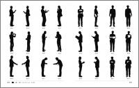 楽天市場デザインアイデア素材集シルエットイラスト 人物小物