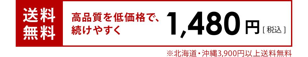 送料無料 1,480円(税込)