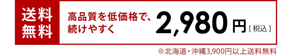 送料無料 2,980円(税込)
