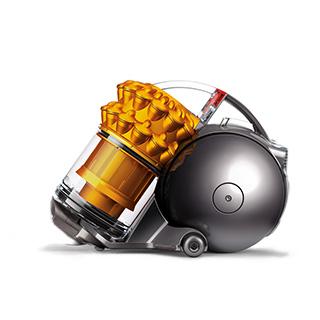 DYSON CY25THCOM 【送料無料】 Dyson Ball ブラック Turbinehead+ イエロー/ [サイクロン式クリーナー(タービンブラシ搭載)]