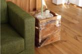 カッコいい!木製鉢カバー