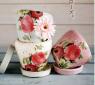 花柄アンティーク風陶器鉢
