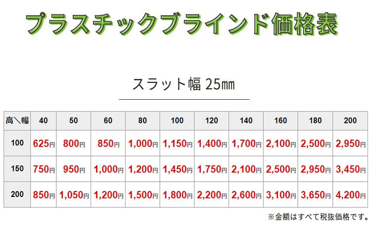 pvc価格表