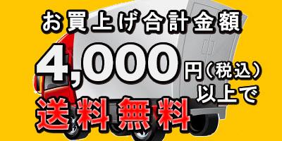 3,000円(税抜)以上で送料無料