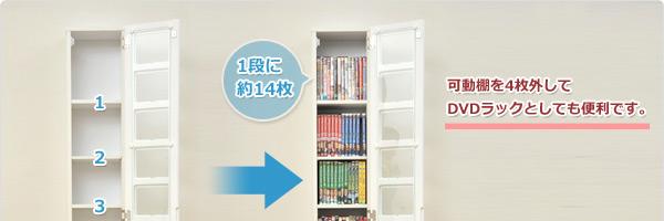 DVD目安98枚